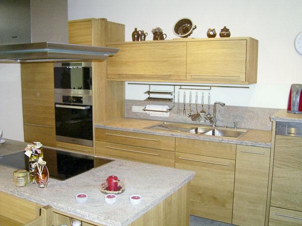 Mobel kochen essen tischlerei klengel einbaukuchen for Einbauküche massivholz