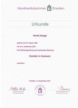 Gestalter im handwerk frankfurt